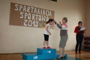 SPARTAKIADA 2013 Z AGATĄ KL. I i przedszkolaki 164