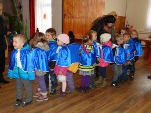 Dzieci przed koncertem