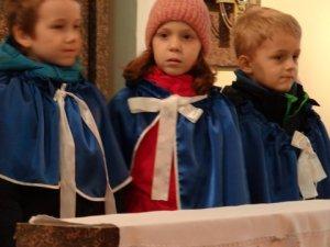 Filip, Hania i Michał