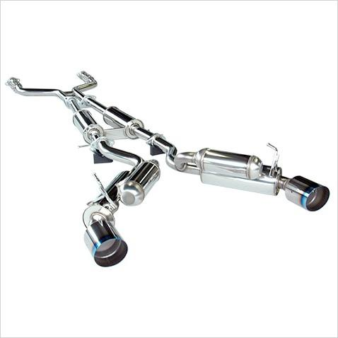 hks hi power cat back exhaust system infiniti g37 coupe