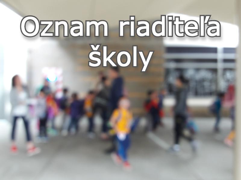 Pokyny k prevádzke ZŠ Starozagorská 8, Košice po 1.9.2021
