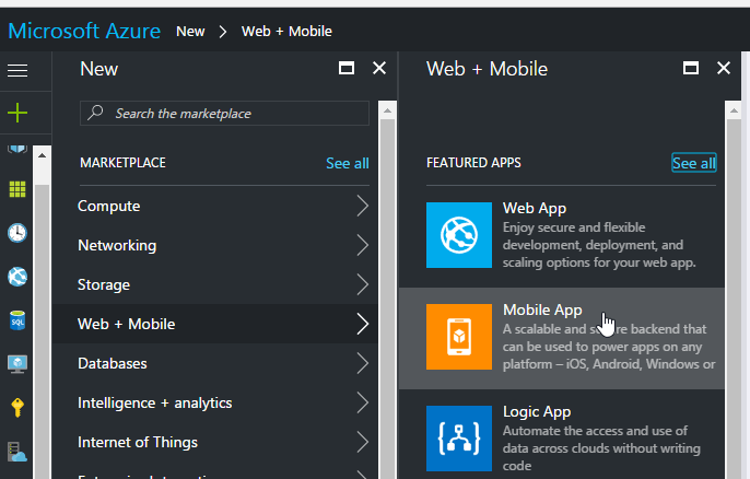 Xamarin Challenge 3 Add Mobile App