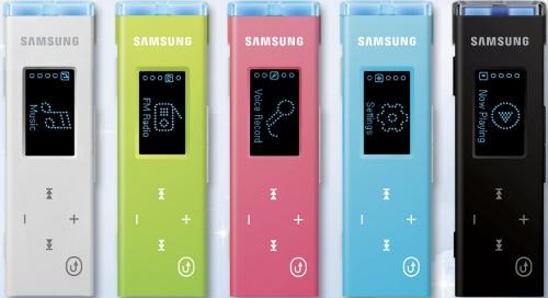 Samsung U3: versões coloridas