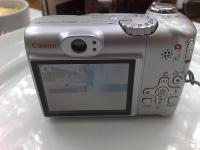Canon A580: LCD de 2,5 polegadas