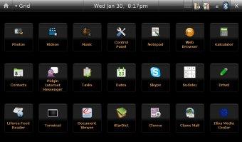 Tela do Ubuntu Mobile (divulgação)