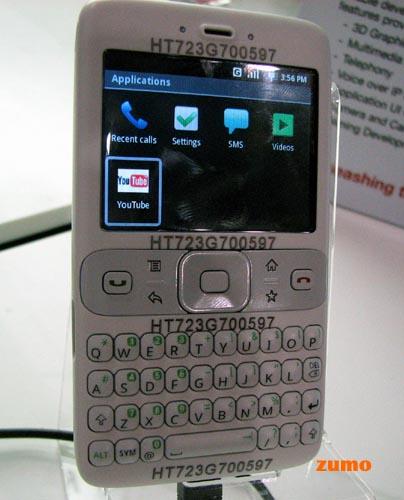 Protótipo da HTC com chip Texas Instruments rodando Android. Não é nada novo…