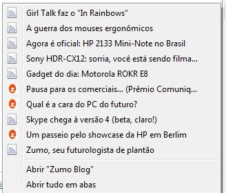 RSS no Firefox