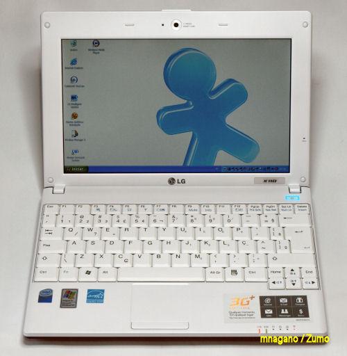 LG X110 aberto