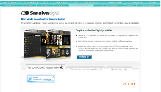 ...e do download do aplicativo