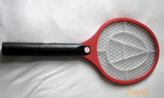 a raquete propriamente dita