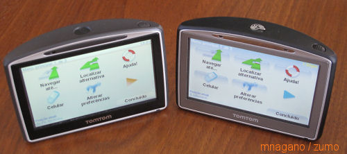 tomtom630 compared front