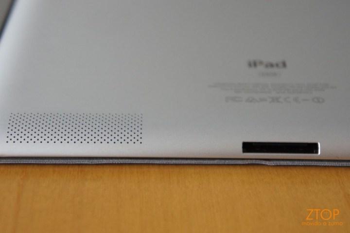 Alto-falante: continua mono no iPad 2
