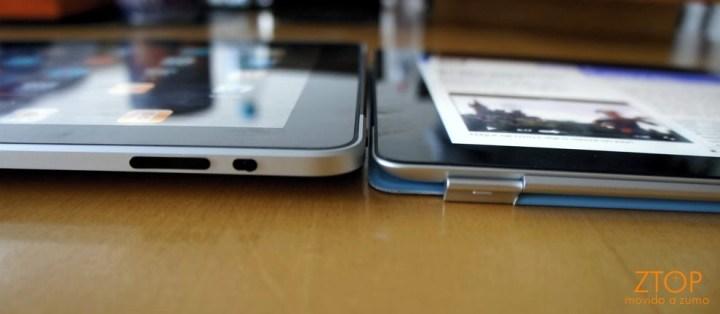 iPad e iPad 2, lado a lado