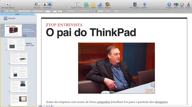 Hands-on: Apple iBooks Author   ZTOP+ZUMO