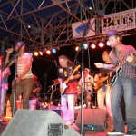 With Earl Thomas, Mikey Capone, Shayne Dwight - Blues Cruise Mexico, 2007