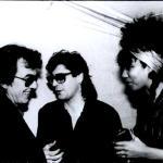 With George Harrison & Joniece Jamison- London, Wembley Stadium, Dec. 1986