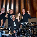 Session with Ringo Starr, Joe Walsh, Tal, Dave Mathison,  Kenny Wayne Sheppard  - in Hollywood - 2012
