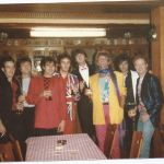 With Rod and the boys - 1984