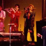The Soul Lips - on tour with Tom Petty, 1985