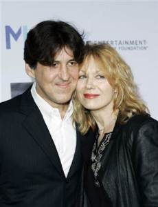 Cameron Crowe with his ex-wife, Heart's Nancy Wilson
