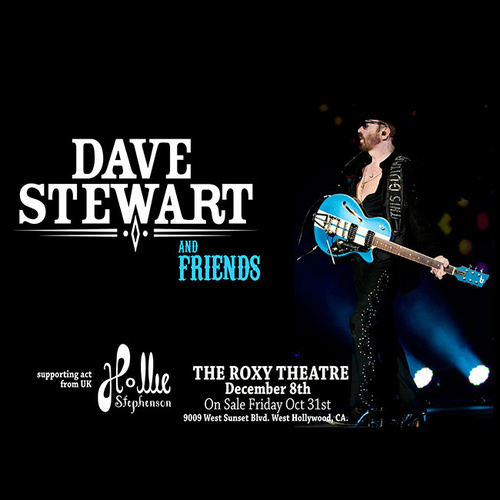 dave stewart with Jimmy Z at roxy