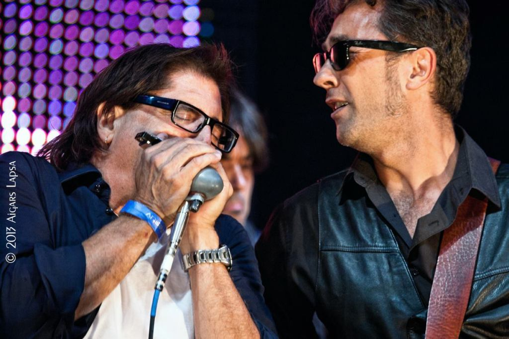 Jimmy Z & Mario M-Sigulda Blues Fest-7.27.13