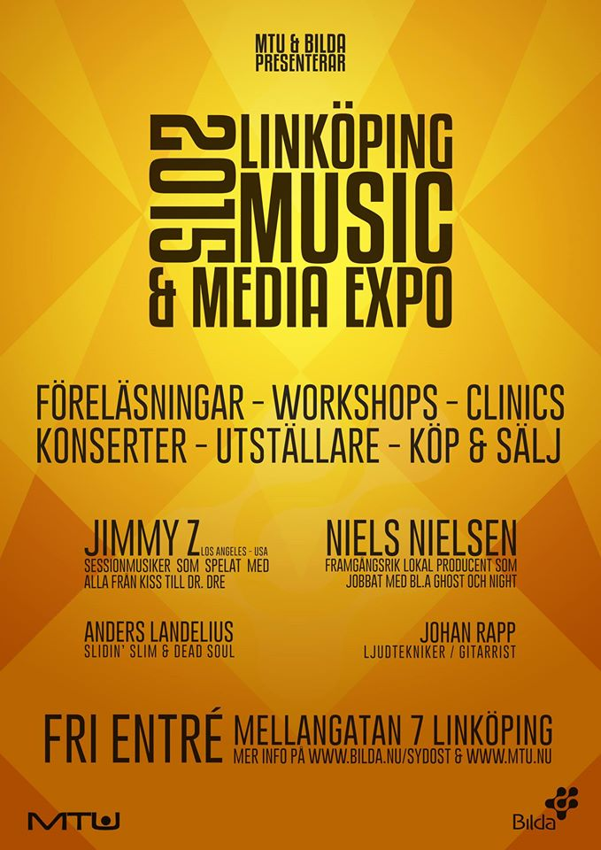 LINKÖPING MUSIC & MEDIA EXPO 2015