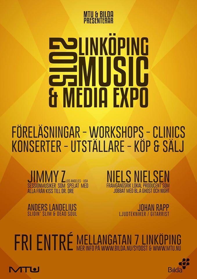 LINKÖPING MUSIC & MEDIA EXPO 2015