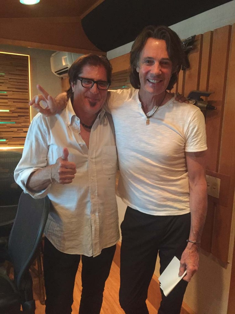 Rick Springfield and Jimmy Z