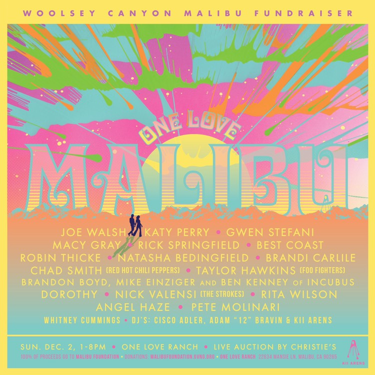 One Love Malibu - Music & Food Fundraiser for Woolsey Fire
