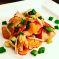 Frühlingssalat Radieschen Salat mit Honig Senf Dressing