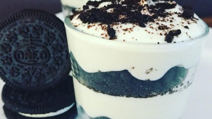 Oreo Limetten Sahne Quark Dessert