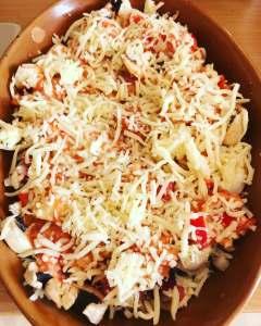 Zutaten und Zubereitung Überbackene Fleischbällchen mit Champignons