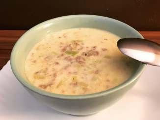 Käse Lauch Suppe ein wahrer Klassiker