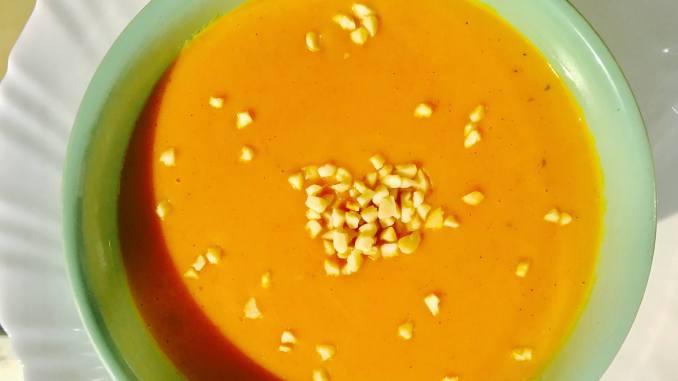 Hokkaido Kürbis Creme Suppe