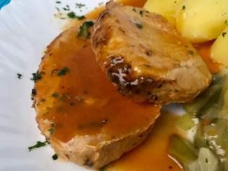 Zutaten Rezept Idee BBQ Lachsbraten