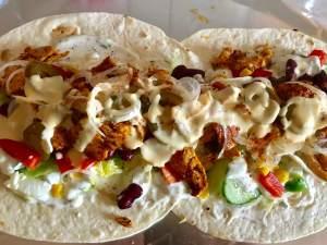 XXL Chicken Kebab Burrito