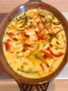 Paprika Sahne Ofenschnitzel mit Weißwein Zubereitung