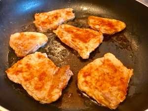 Zubereitung Ofenschnitzel
