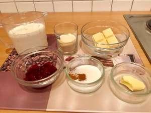 Gefüllte Grießbällchen in Weißer Schokolade Zutaten