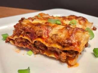 Lasagne ein einfaches Rezept