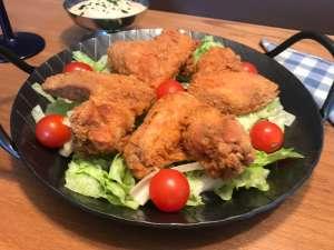 Serviervorschlag Fried Chicken Wings