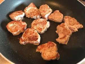 Zubereitung Schweinemedaillons