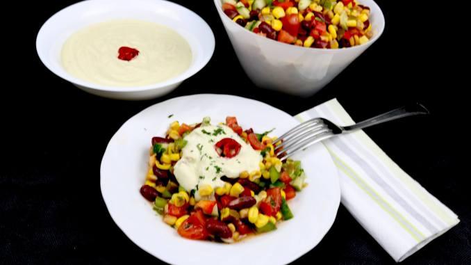 Mexikanischer Grill Beilagen Salat