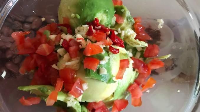 Zubereitung Avocado Dip