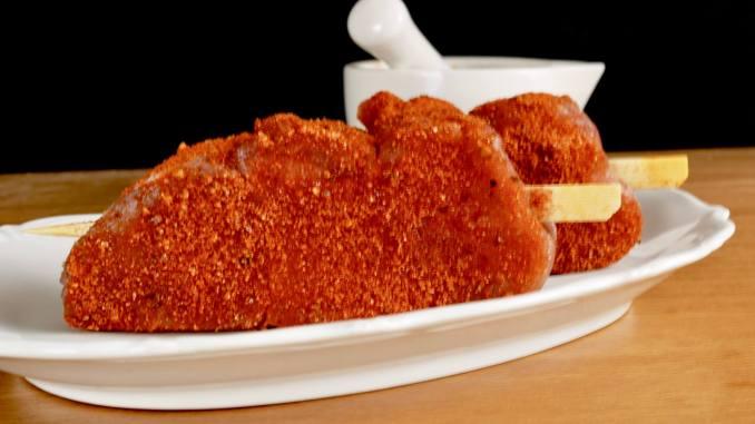 Selbst gemachte Gewürzmischung für BBQ Schweinefilet Spieße