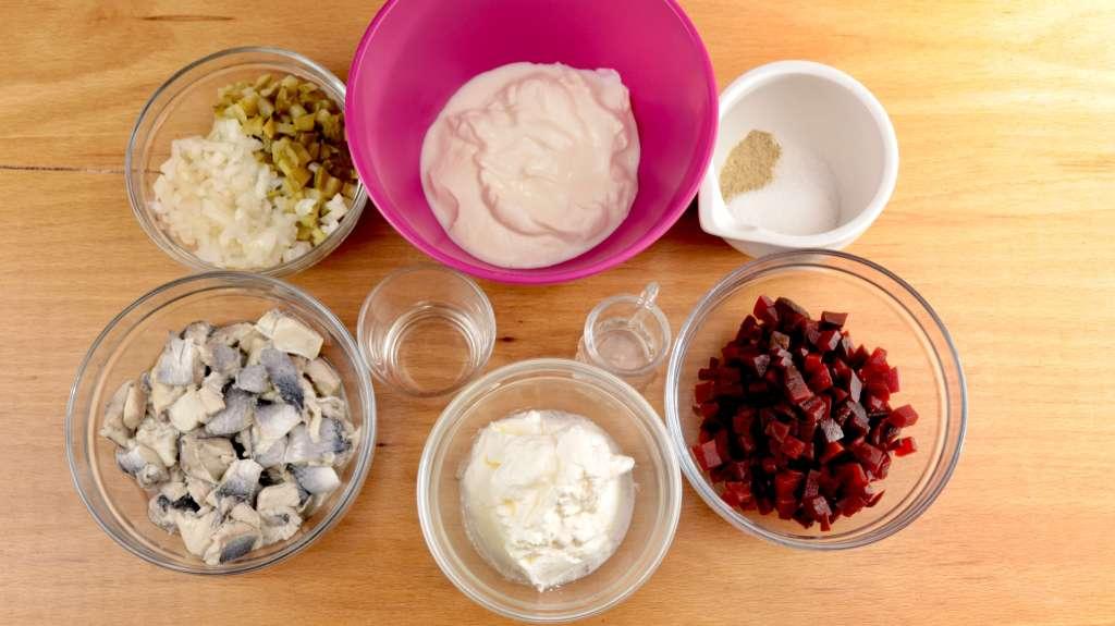 Omas schneller Heringssalat Zubereitung