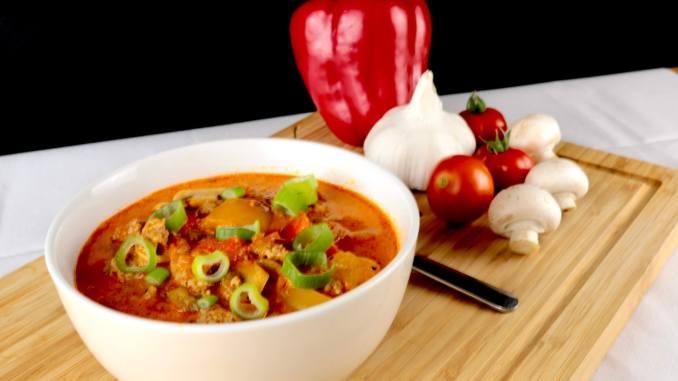 Herzhafte Hackfleisch Suppe