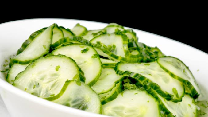 Dänischer Gurkensalat