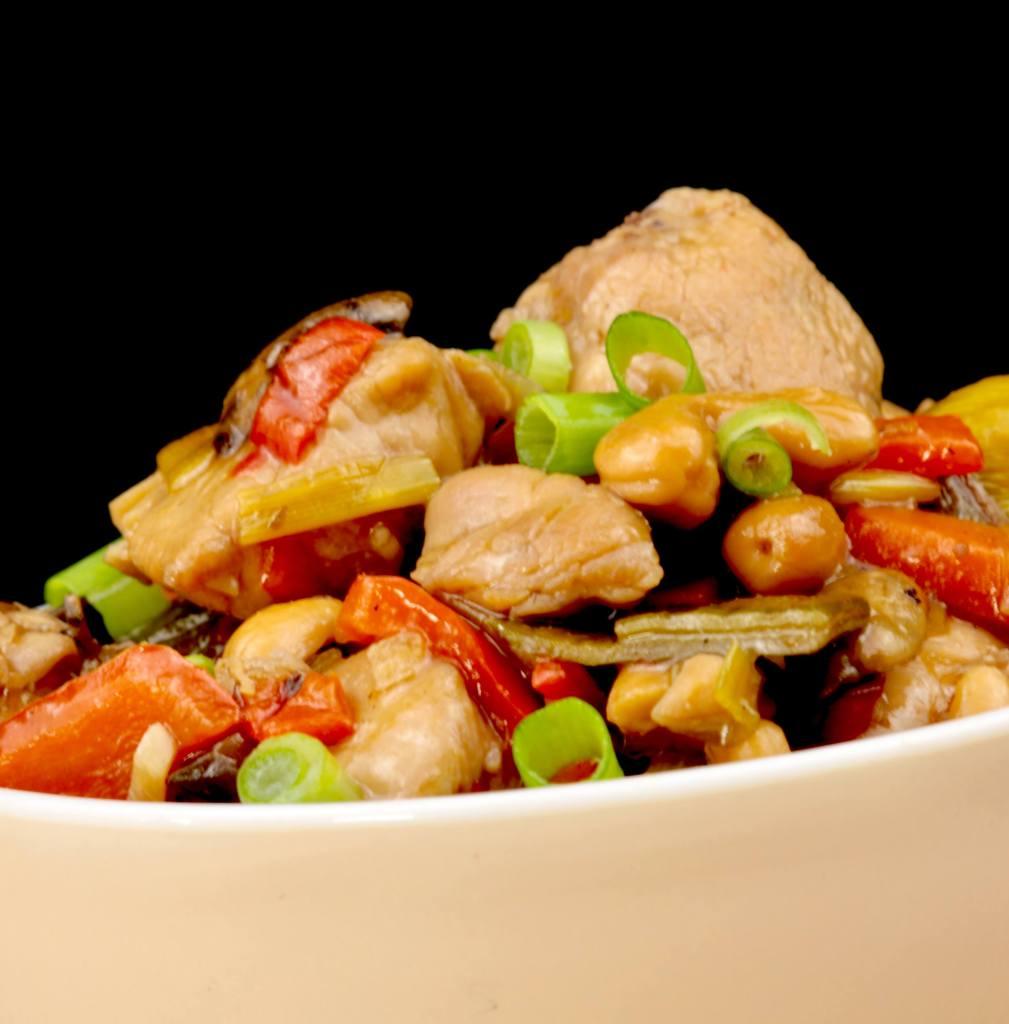 Einfach und Lecker Würziges Cashew Huhn